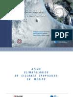 Atlas Cimatologico Ciclones en Mexico