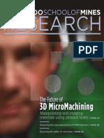 2016 Mines Research Magazine