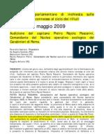 Audizione+Del+Capitano+Pietro+Rajola+Pescarini%2C+Comandante+Del+Nucleo+Operativo+Ecologico+Dei+Carabinieri+Di+Roma