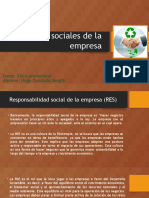 Aspectos Sociales de La Empresa
