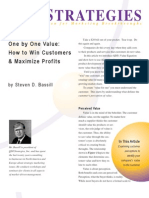 One by One Value How to Win Customers and Maximize Profits