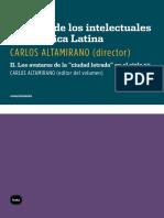 ALTAMIRANO, Carlos (Org) - Historia de Los Intelectuales en America Latina II Los Avatares de La Ciudad Letrada en El Siglo XX Fragmento