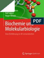 Philipp Christen, Rolf Jaussi, Roger Benoit auth. Biochemie und Molekularbiologie Eine Einführung in 40 Lerneinheiten.pdf
