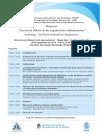 Program - Science Behind Regulations Workshop