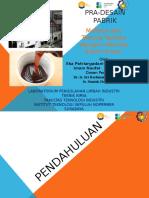 PPT Pra-Desain Pabrik
