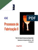 Aula 18 Pfii 2016 Fundição Moldes Colapsáveis2