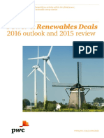 Power and Renewables Deals 2016 Outlook and 2015 Review