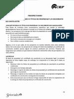 Entregando el certificado .pdf