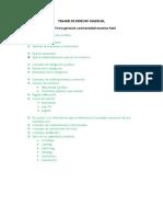 Temario 2016-1 de Derecho Comercial