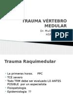 01. CIG.-Segundo-Registro.-Trauma-vértebro-medular.pptx