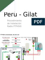 Peru - Gilat - PTP450i