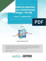 Guía Modelo de Inspección Vigilancia y Control Basado en Riesgo IVC SOA