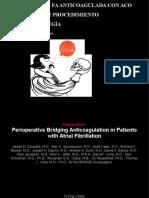 Profilaxis con HBPM en paciente anticoagulado