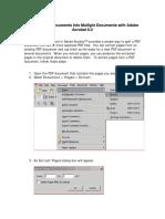 Splitting PDF Docs