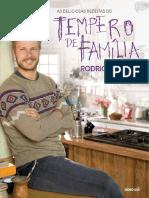 As Deliciosas Receitas Do Tempero de Família - Rodrigo Hilbert