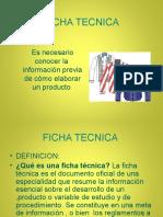 Ficha Tecnica