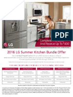 2016 Lg Summer Kitchen Bundle