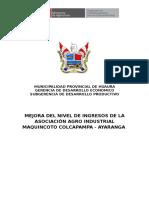 PNT Melocoton Maquincoto Huaura