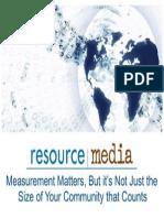 rm measurement training