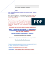 Universidad Tecnológica de México Licenciatura Tradicional 17-1v2