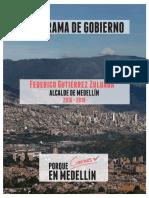 Programa de Gobierno 2016-2019