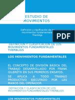 3.2. Definición y Clasificación de Los Movimientos Fundamentales Therbligs