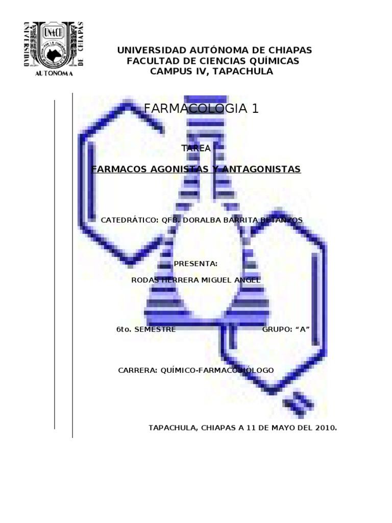 FÁRMACOS AGONISTAS