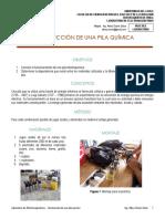 3 Laboratorio Electromagnetismo - Construcción de Una Pila Química