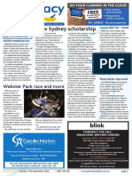 Pharmacy Daily for Tue 27 Sep 2016 - New Sydney scholarship, CMA honours Frank Caruso, Webster Packing race and other comps, Guild Update and much more