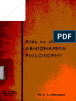 537. Aids To The Abhidhamma Philosophy