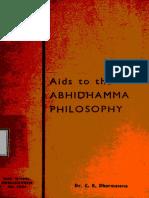 515. Aids To The Abhidhamma Philosophy