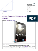 Outlast Complete Multile...- IntercambiosVirtuales