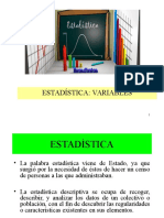 Estadistica Variables y Trabajo