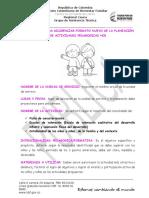 Instructivo Para Diligenciar Formato Nuevo de Planeación de Actividades Pedagogicas Hcb