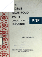 540. The Noble Eightfold Path and Its Factor Explained, Magganga Dipani - Ledi Sayadaw