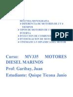 Tipos de Motores de Combsuton Interna