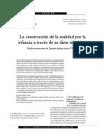 DEL RIO Pablo - La Construcción de La Realidad Por La Infancia Atraves de Su Dieta Televisiva