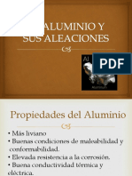 El Aluminio y Sus Aleaciones