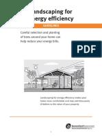 Landscape for Energy Efficiency
