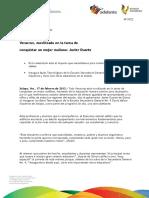 "17 02 2012 - El gobernador Javier Duarte de Ochoa inaugura aulas tecnológicas de la Escuela Secundaria General No. 4 ""David Alfaro Siqueiros"""