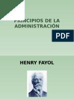 Principios de La Administración