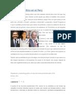Marketing Político en El Perú
