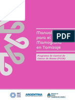 Manual Operativo Tamizaje Mamografa