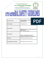 Tph Safety Guidelines