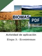 biomas y ecosistema