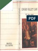 Carr, Edward Hallett - 1917. Antes y Después. La Revolución Rusa, Ed. Sarpe, 1985