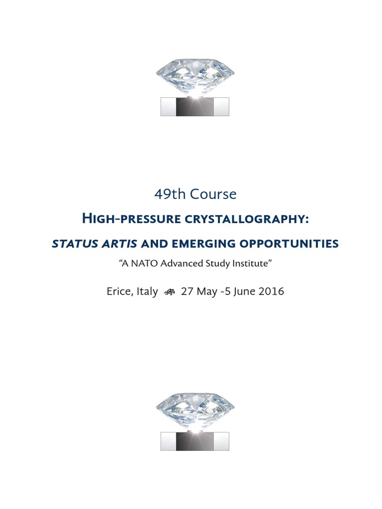 197 Piermarini Design Roma high pressure crystallography: status artis and emerging