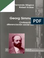 Serie Clasicos Sociologia Vol 07_2003 Georg Simmel