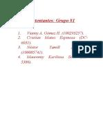 Práctica #5 Grupo #1