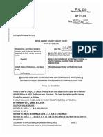 Shawna Cox Complaint 9-26